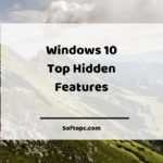 Windows 10 Top Hidden Features