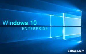 Windows 10 enterprise interface