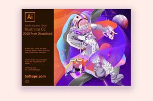 Adobe Illustrator CC 2018 Splash Screen