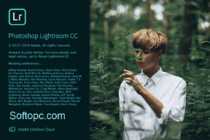 Adobe Photoshop Lightroom CC 2019 Spash Screen