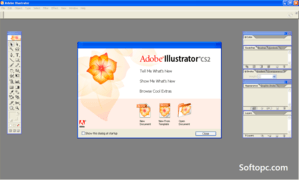 Adobe Illustrator CS2 Interface