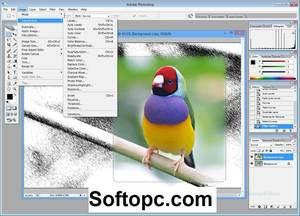 Adobe Photoshop CS2 Interface