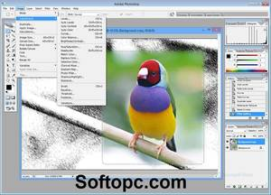 Adobe Photoshop CS2 Portable Interface