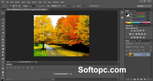 Adobe Photoshop CS6 Portable interface