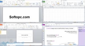 Microsoft Office 2010 Portable Interface