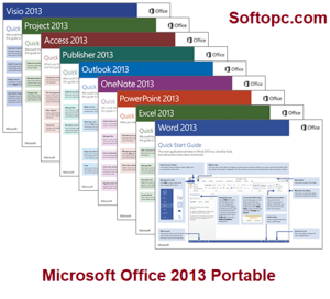 Microsoft Office 2013 Portable Interface