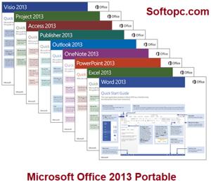 Microsoft Office 2013 Portable Interface