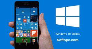 Windows 10 Mobile Interface