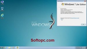 Windows 7 Lite Interface