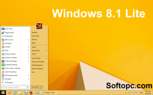 Windows 8.1 Lite Interface