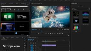 Adobe After Effects CC 2019 Interface