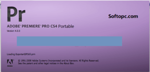 Adobe Premiere Pro CS4 Portable
