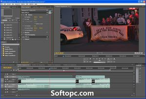 Adobe Premiere Pro CS4 Portable Interface