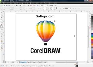 CorelDraw X4 UI