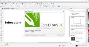 CorelDraw X8 UI