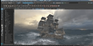 ship animation