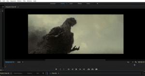 Editing a clip in premiere pro cc 2018