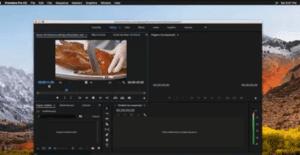Editing mode in premiere pro