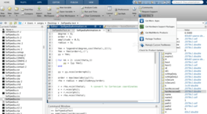 Processing matrices in matlab