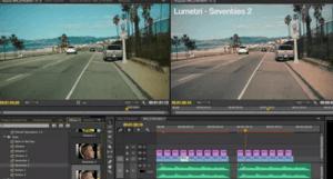 Video editing in Premiere Pro CC 2017