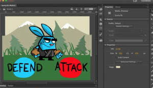Adding motion to the character