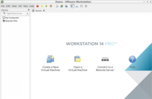 Workstation 14 Pro new display