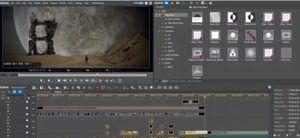main editing dashboard