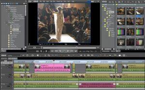 video editing panel
