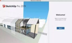 welcome screen in sketchup pro